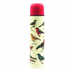 Garden Birds Thermos Flask by Gift Republic