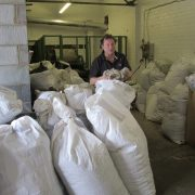 Bags of the rare breed wool