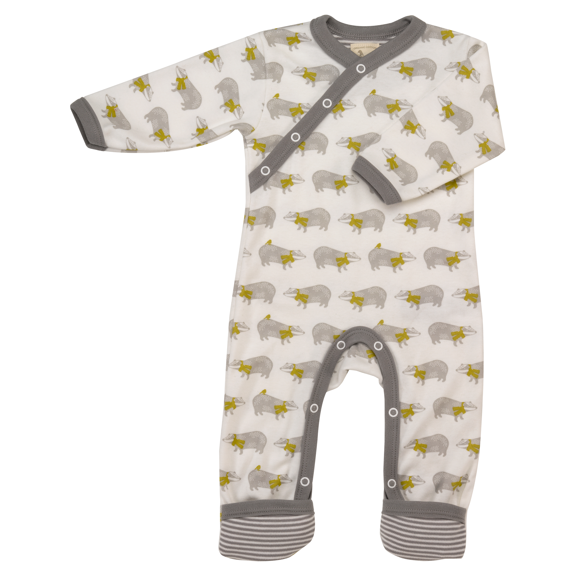 Organic Baby Rompers Varied Designs Pigeon Organic Yorkshire