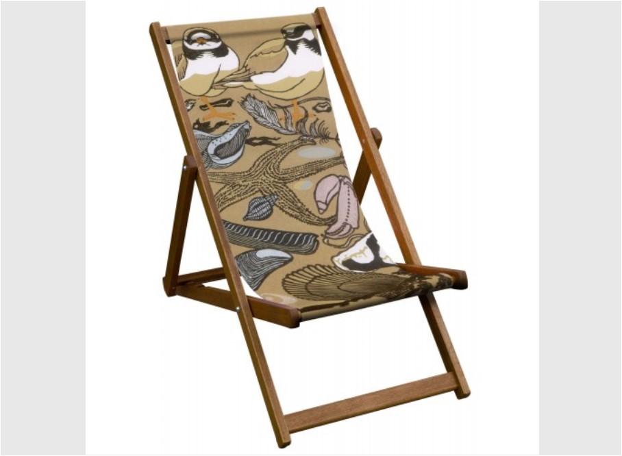 Ring Plovers Robert Gillmor Deckchair Yorkshire