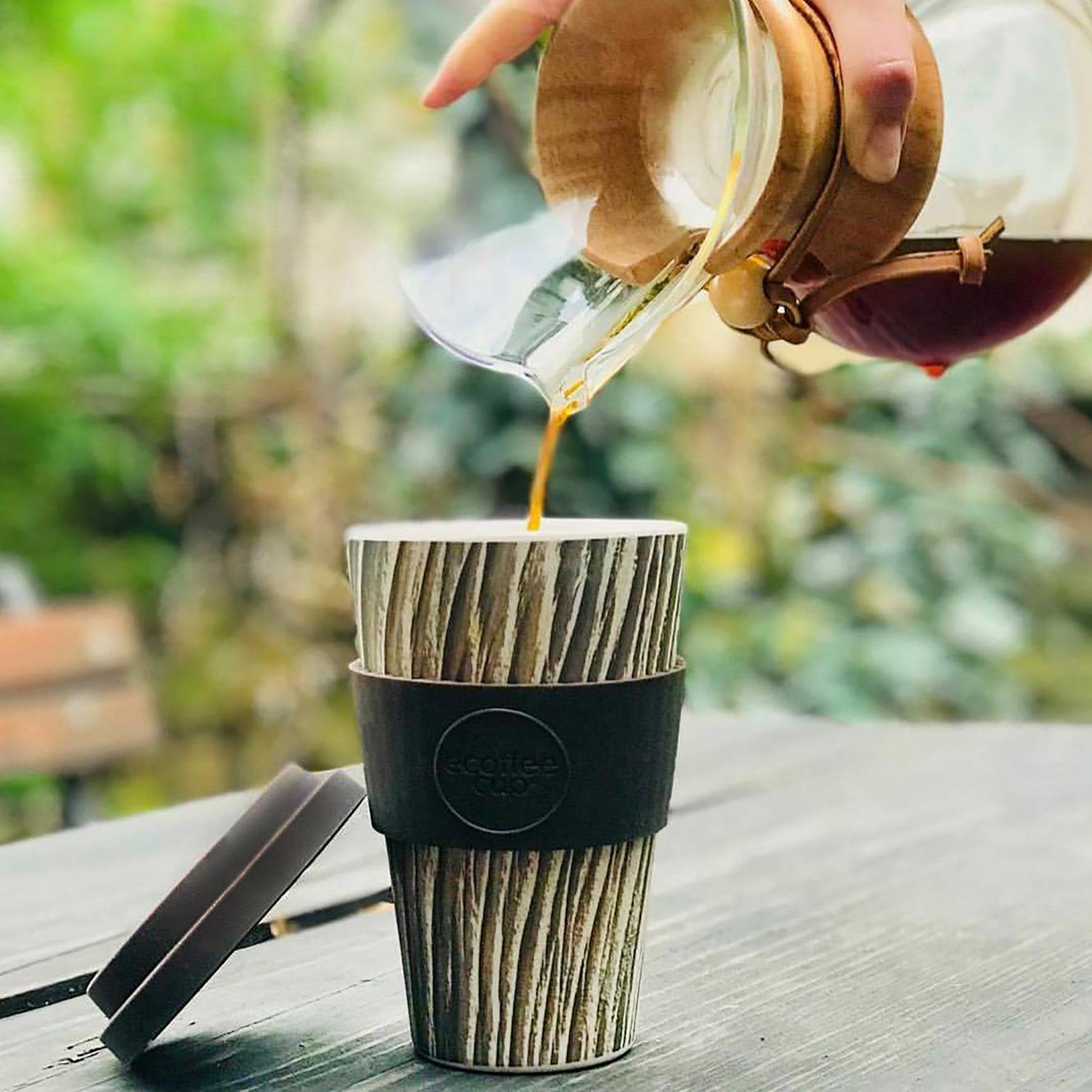 eCoffee Bamboo Coffee Cup