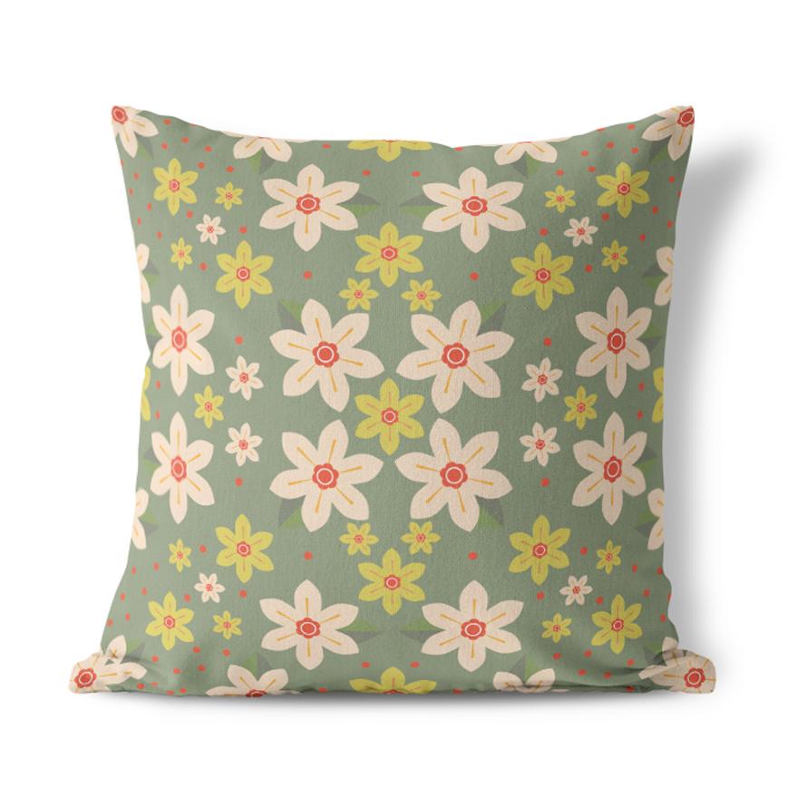 I Like Birds Goldfinch Cushion