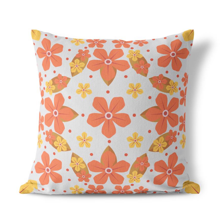 I Like Birds Bullfinch Cushion