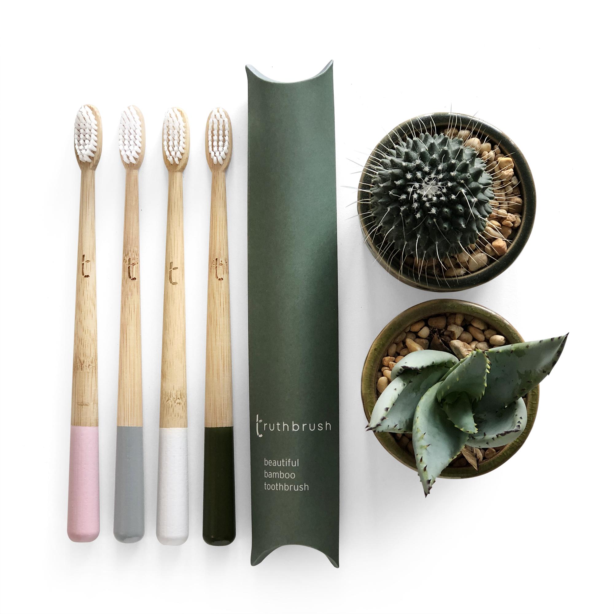 Truthbrush Bamboo Toothbrush Range