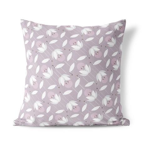 I Like Birds Crane Cushion