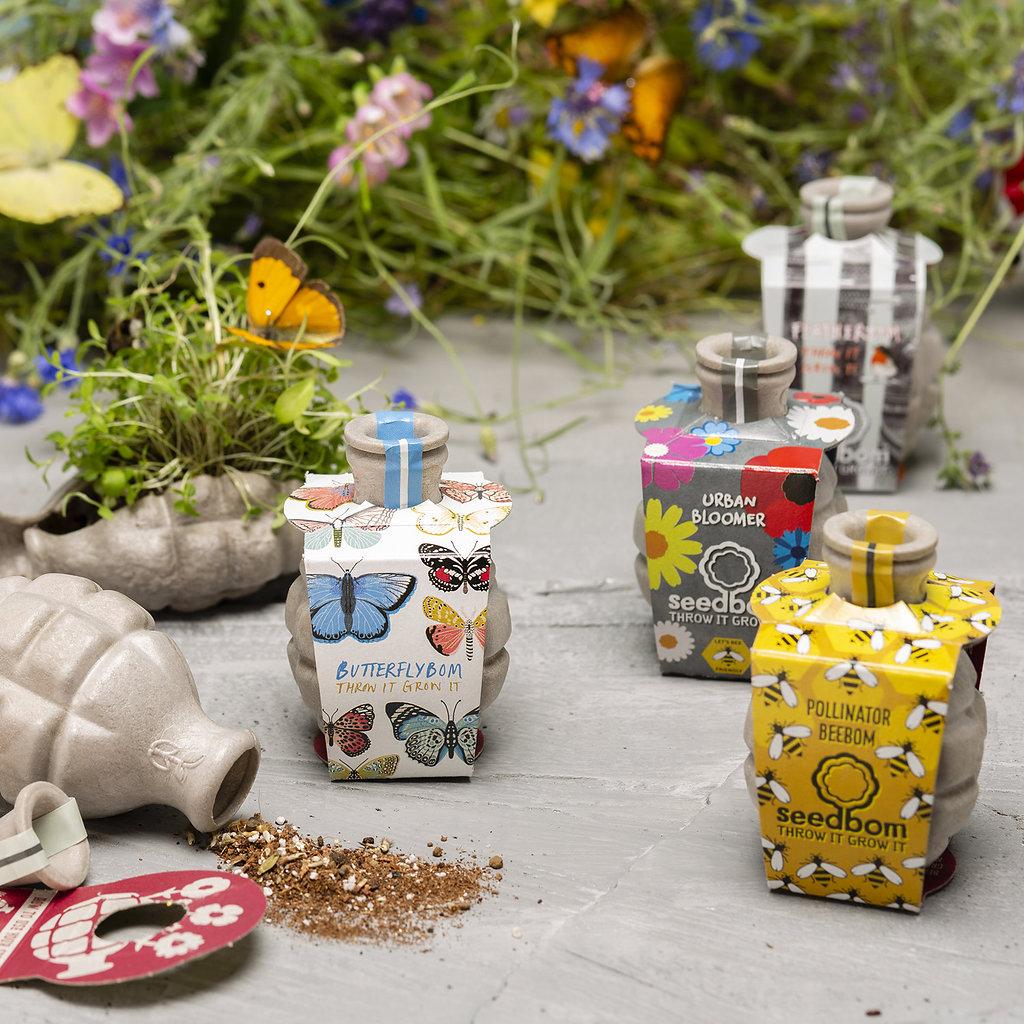 Birds,Bees Butterflies Seedbom Gift Box