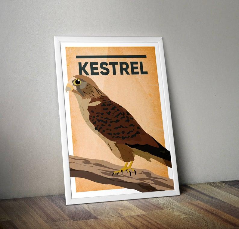 Kestrel A4 Print Micklegate Design